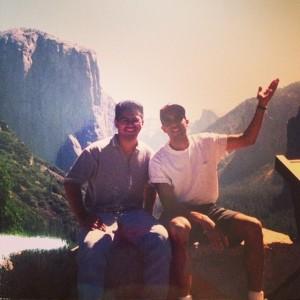 Me & Julian, Yosemite, 1997