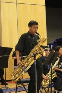Jazz Band, improvisational solo, May 2014