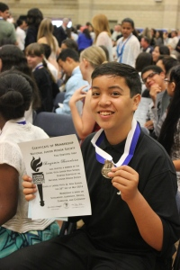 National Junior Honor Society Induction Ceremony, May 2014