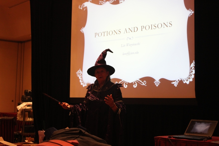 We were introduced to an upcoming chemistry event: Potions and Poisons.