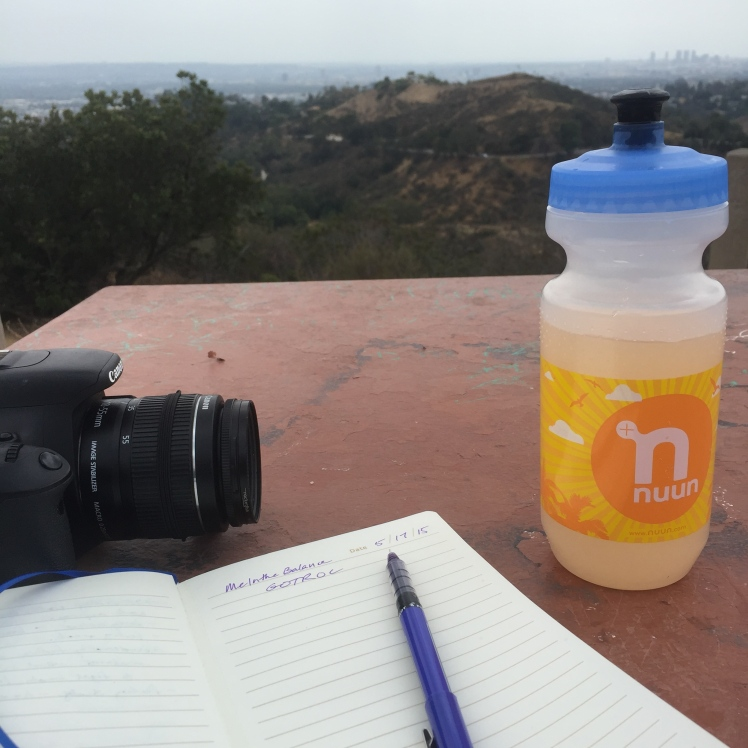 The rest of my afternoon was spent enjoying the view and journalling.