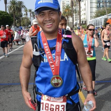 I'm a marathoner.